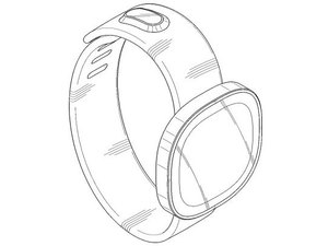 Patent illustration of Samsung smartwatch