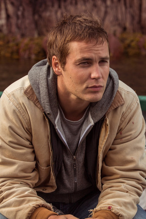 Taylor Kitsch in The Grand Seduction