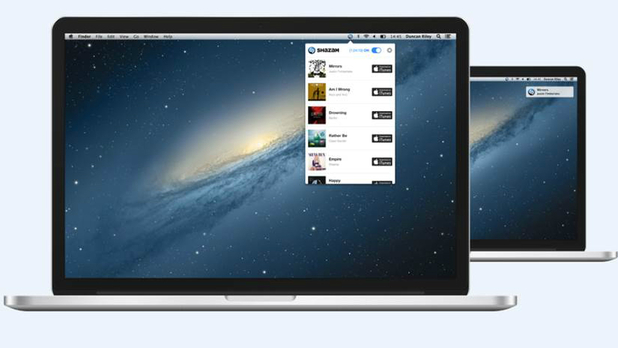 Shazam for Mac brings song tagging to desktops