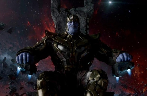 Josh Brolin as Thanos in Marvel teaser