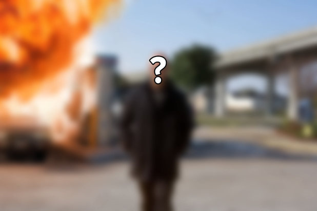 Guess the Expendable walking away from an explosion