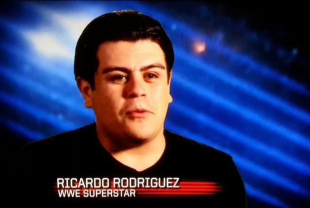 WWE superstar Ricardo Rodriguez