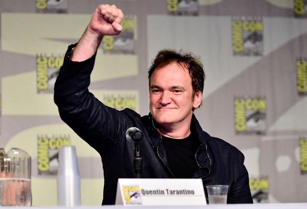 Quentin Tarantino attends Dynamite 10th Anniversary Panel