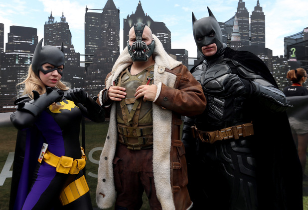 SAN DIEGO, CA - JULY 25: Cosplayers attend Comic-Con International 2014 on July 25, 2014 in San Diego, California. (Photo by Mark Davis/Getty Images)
