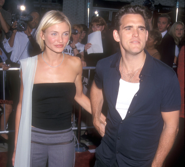 Cameron Diaz and Matt Dillon during 'There's Something About Mary' Los Angeles Premiere at Mann Village Theatre in Westwood, California, United States. (Photo by Barry King/WireImage)