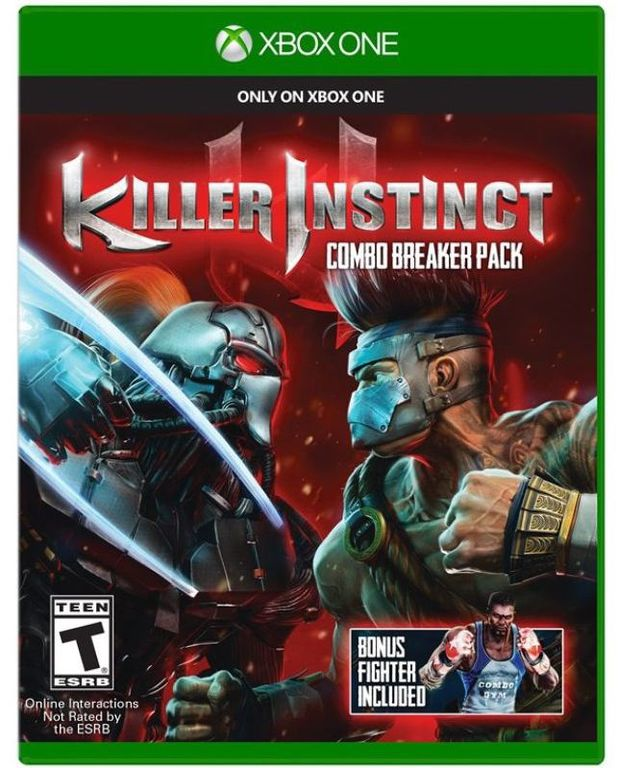 Killer Instinct Xbox One box art