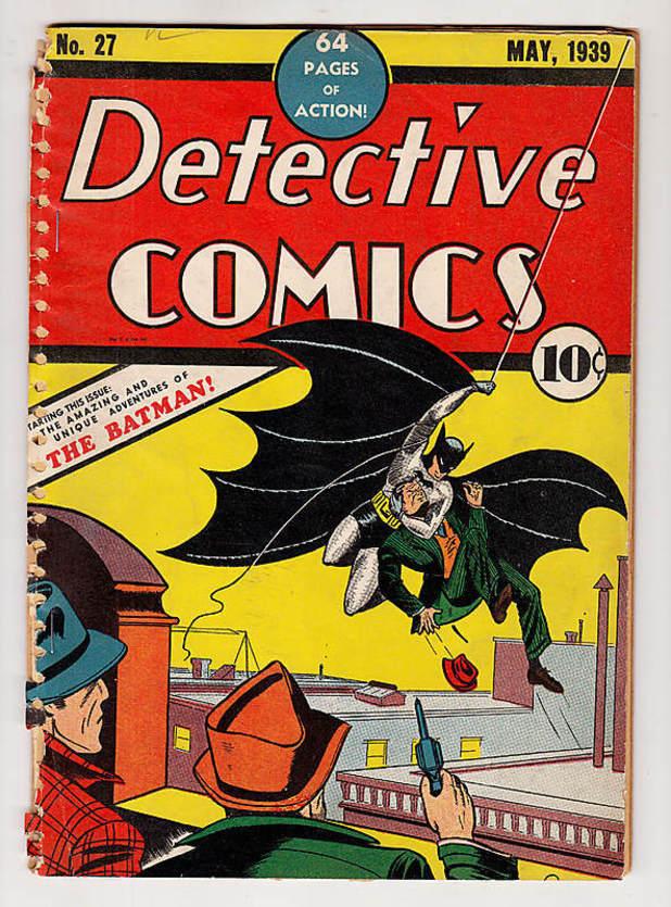 Bob Kane's Detective Comics #27