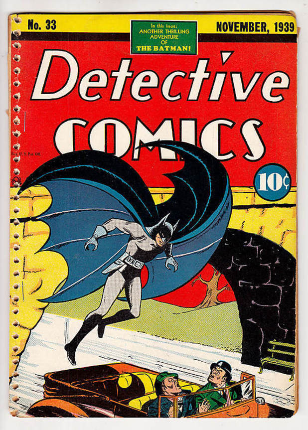 Bob Kane's Detective Comics #33