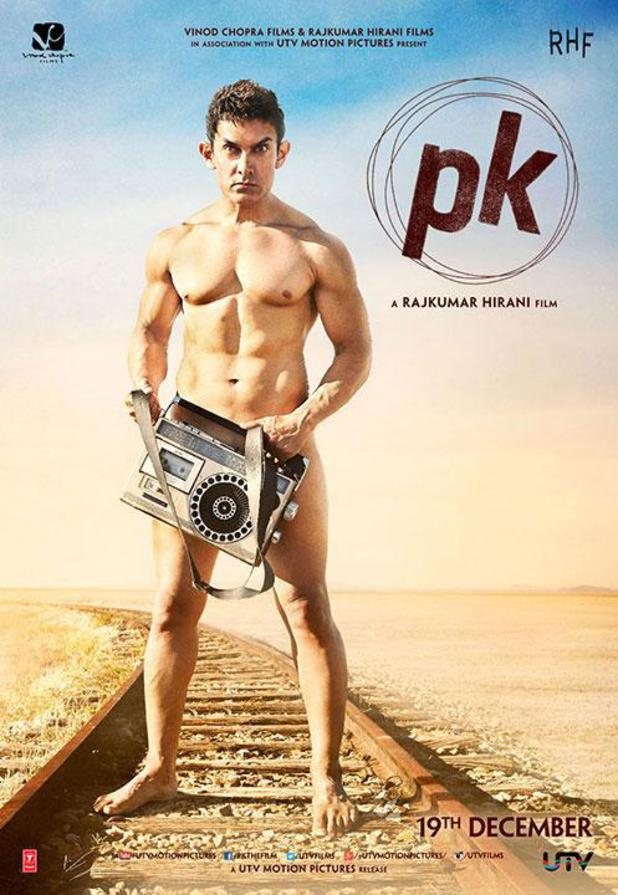 Aamir Khan in PK poster