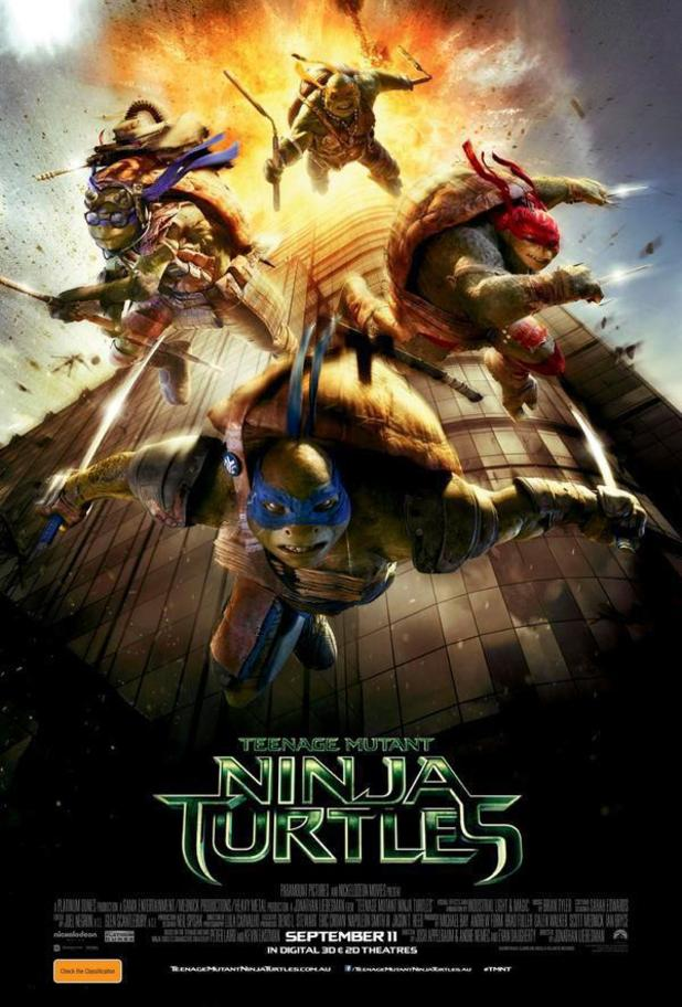 Teenage Mutant Ninja Turtles poster 9/11