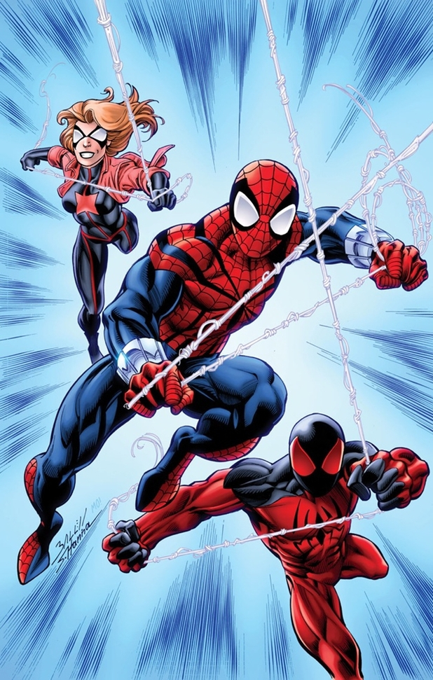 Spider-Verse tie-in Scarlet Spiders