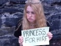 Ex-Myrcella Baratheon actress takes royalty to the streets as a busking princess.