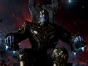 The actor discusses Thanos's one true love and his future at Marvel Studios.