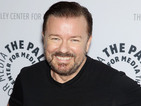 Ricky Gervais sends a Thanksgiving message from the UK for British Airways