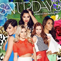 The Saturdays 'What Are You Waiting For?' single artwork.