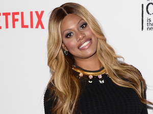 LOS ANGELES, CA - AUGUST 04: Actress Laverne Cox attends Netflix's 'Orange is the New Black' panel discussion at Directors Guild Of America on August 4, 2014 in Los Angeles, California. (Photo by Jason Merritt/Getty Images)