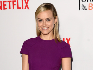 LOS ANGELES, CA - AUGUST 04: Actress Taylor Schilling attends Netflix's 'Orange is the New Black' panel discussion at Directors Guild Of America on August 4, 2014 in Los Angeles, California. (Photo by Jason Merritt/Getty Images)