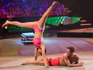 Tumble Week 1: Lucy Mecklenburgh and Billy George