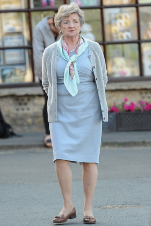 Actors seen of set for the filming of JK Rowling's 'The Casual Vacancy' - Part 3 Julia McKenzie