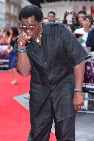 LONDON, ENGLAND - AUGUST 04: Wesley Snipes attends the World Premiere of 'The Expendables 3' at Odeon Leicester Square on August 4, 2014 in London, England. (Photo by Karwai Tang/WireImage)