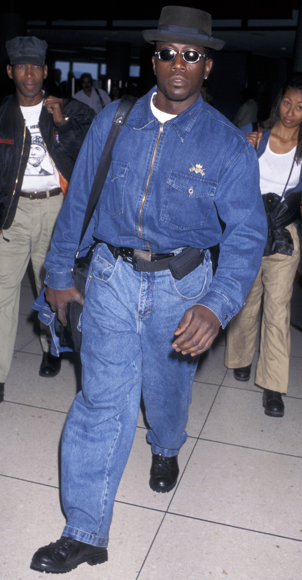 Wesley Snipes during Wesley Snipes Sighted at Los Angeles International Airport - June 4, 1996 at Los Angeles International Airport in Los Angeles, California, United States. (Photo by Ron Galella, Ltd./WireImage)