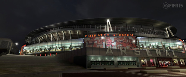 FIFA 15 Barclay's Premiere League Stadium: Emirates - Arsenal