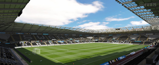 FIFA 15 Barclay's Premiere League Stadium: Liberty Stadium - Swansea City Football Club