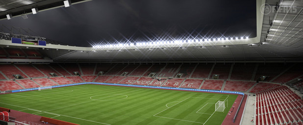 FIFA 15 Barclay's Premiere League Stadium: Stadium of Light - Sunderland A.F.C.