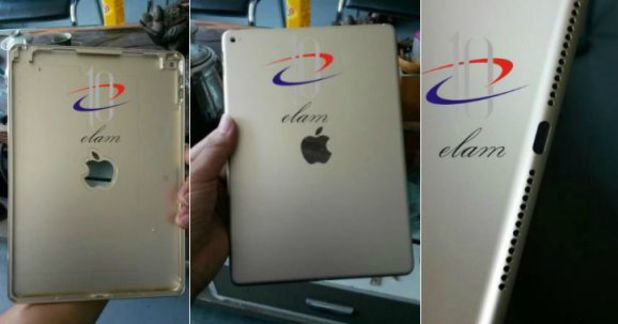 Purported leaked image of the iPad Air 2 casing