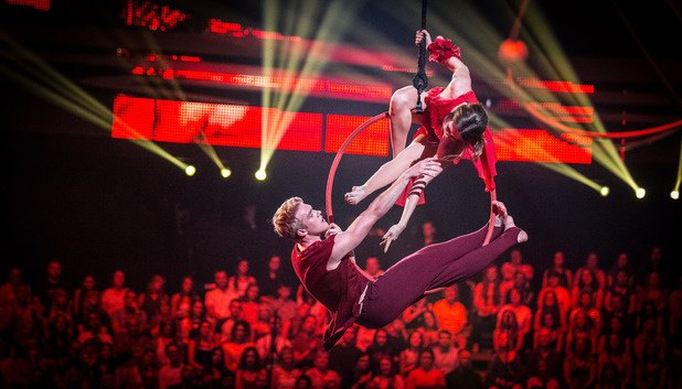 Tumble Week 1: Bobby Lockwood and Kristin Allen