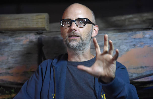 ROTHBURY, MI - JUNE 29: Moby attends Day 4 of the 2014 Electric Forest Festival on June 29, 2014 in Rothbury, Michigan. (Photo by Jeff Kravitz/FilmMagic for Electric Forest)