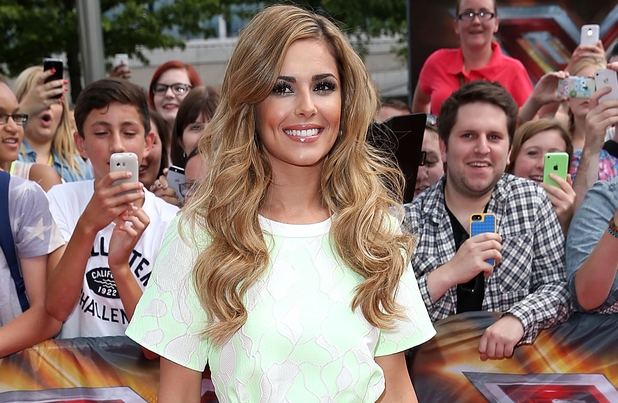Cheryl at the 2014 X Factor arena auditions
