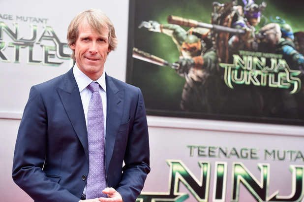 Michael Bay attends the 'Teenage Mutant Ninja Turtles' premiere at Regency Village Theatre