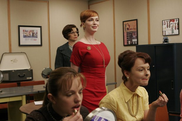 Joan in Mad Men episode 'Babylon'