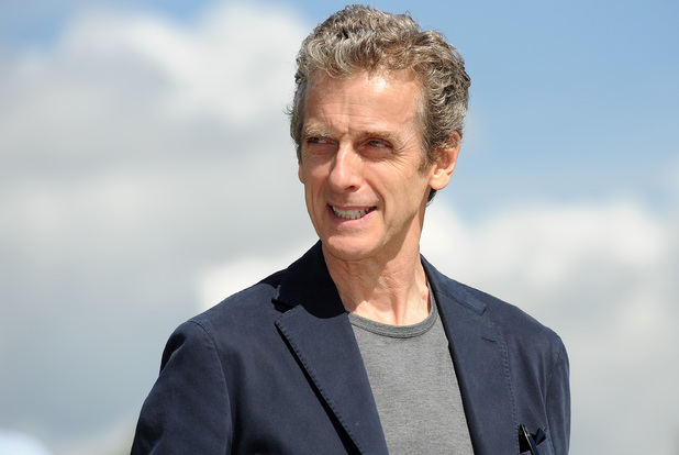 Peter Capaldi at the launch of the Doctor Who World Tour