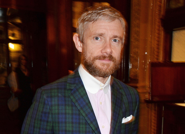 Martin Freeman attends an after party celebrating the Gala Night performance of 'Richard III'