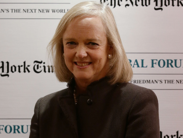 CEO of Hewlett-Packard Meg Whitman