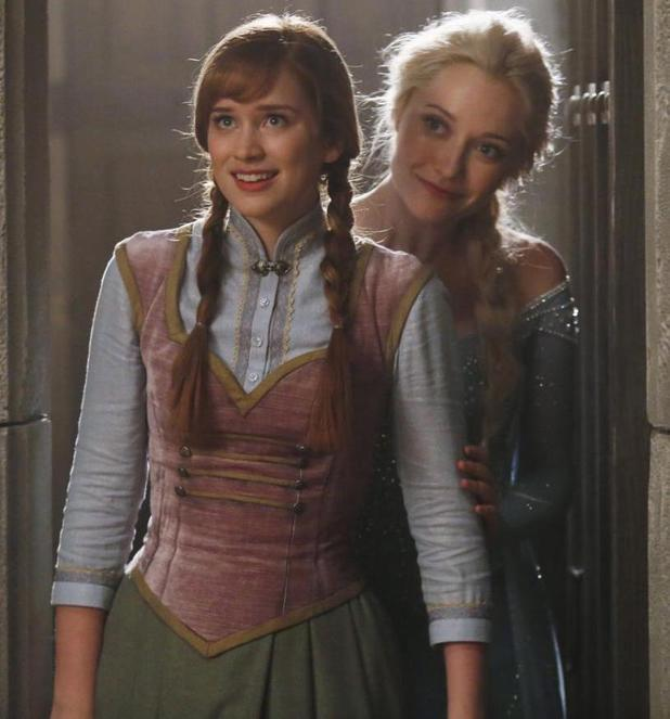 Frozen's Princess Anna in Once Upon a Time
