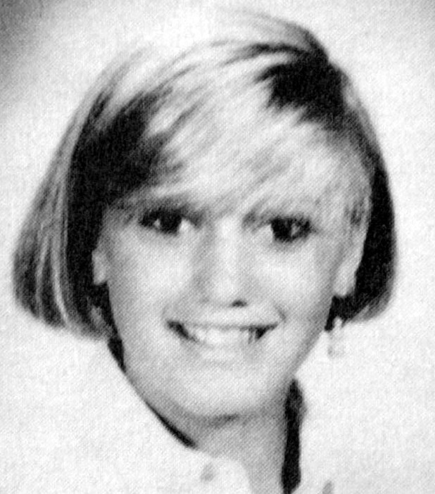 Gwen Stefani High school yearbook