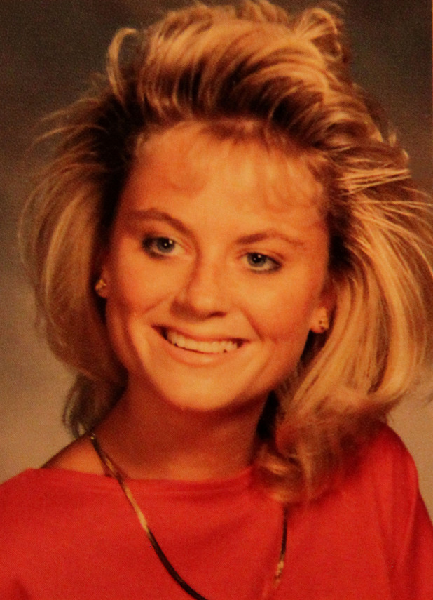 Amy Poehler yearbook, high school