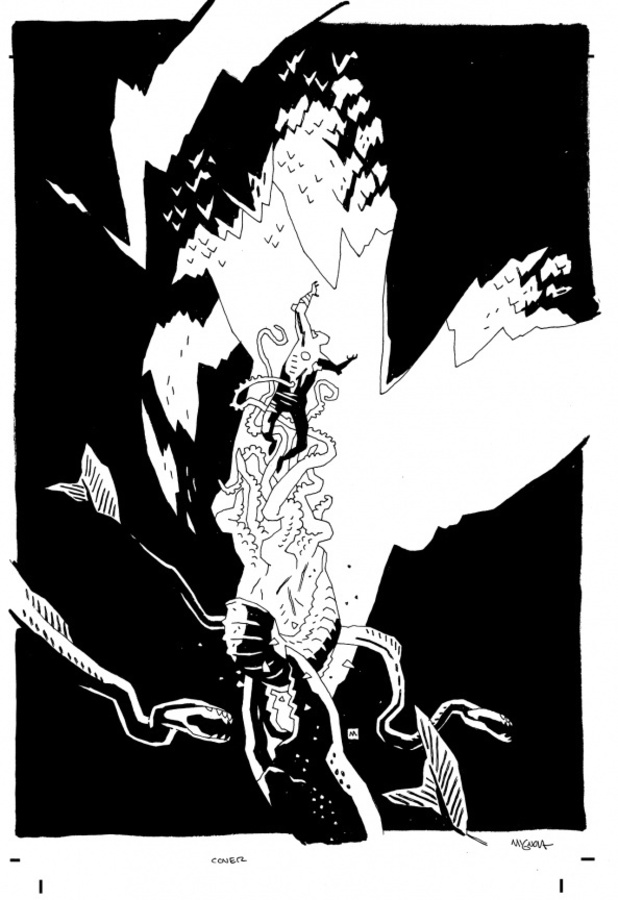 Mike Mignola's mystery project
