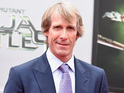 A construction worker was injured while working on Michael Bay's property.