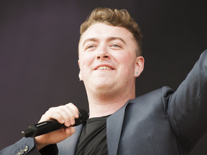 August 17, 2014: Sam Smith at Virgin Media V Festival, Chelmsford