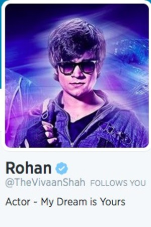 Happy New Year twitter handle: Rohan