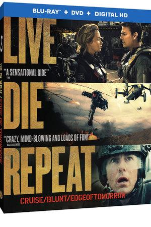 Edge of Tomorrow Blu-ray cover