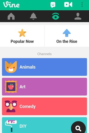 Vine app for Android