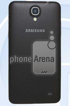 Reportedly leaked pictures of the Samsungs Galaxy Mega 2