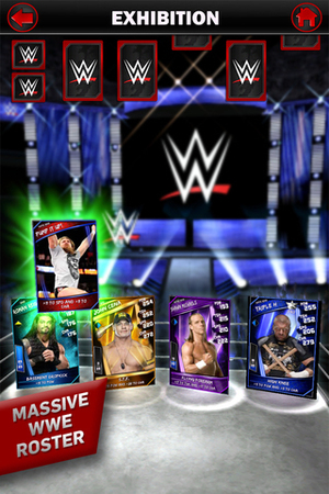 WWE Supercards screenshot