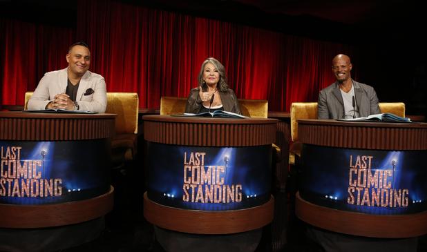 Russell Peters, Roseanne Barr and Keenan Ivory Wayans on Last Comic Standing season 8