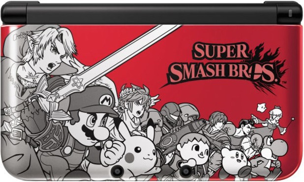 Super Smash Bros limited edition Nintendo 3DS